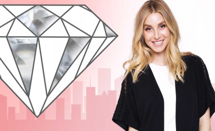 Getting Psyched for #DiamondDay with Whitney Port