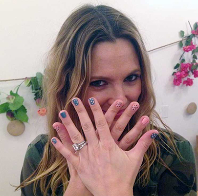 Drew Barrymore celebrity Engagement Ring