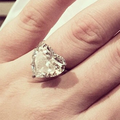 Lady Gaga celebrity Engagement Ring