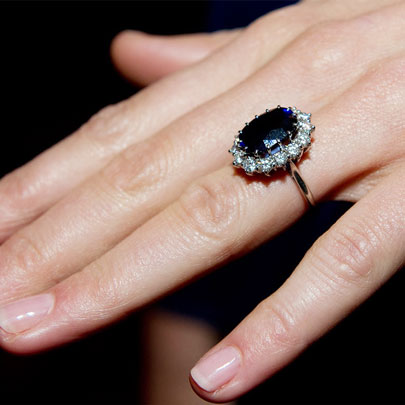 Kate Middleton celebrity Engagement Ring