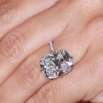 Kim Kardashian celebrity Engagement Ring