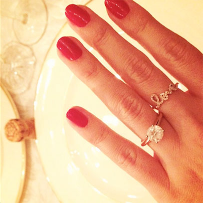Lauren Conrad celebrity Engagement Ring