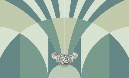 14 Art Deco Engagement Rings for your Valentine's Day Proposal