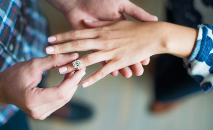 How to Choose an Engagement Ring She'll Love