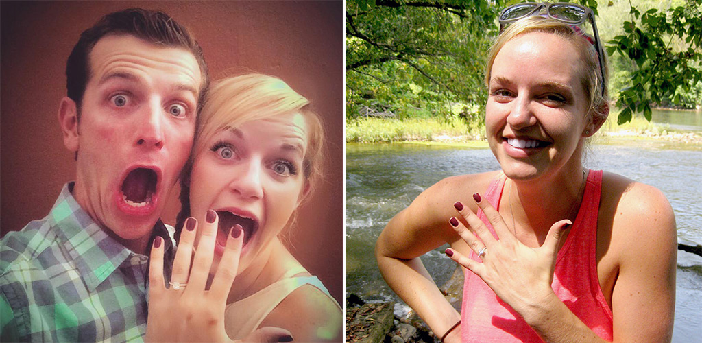 proposal stories - Kelsey & Drew from Charlottesville, Virginia