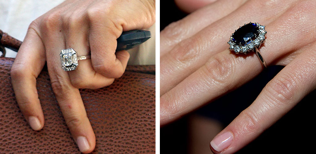 Pippa Middleton and Kate Middleton Engagement Rings