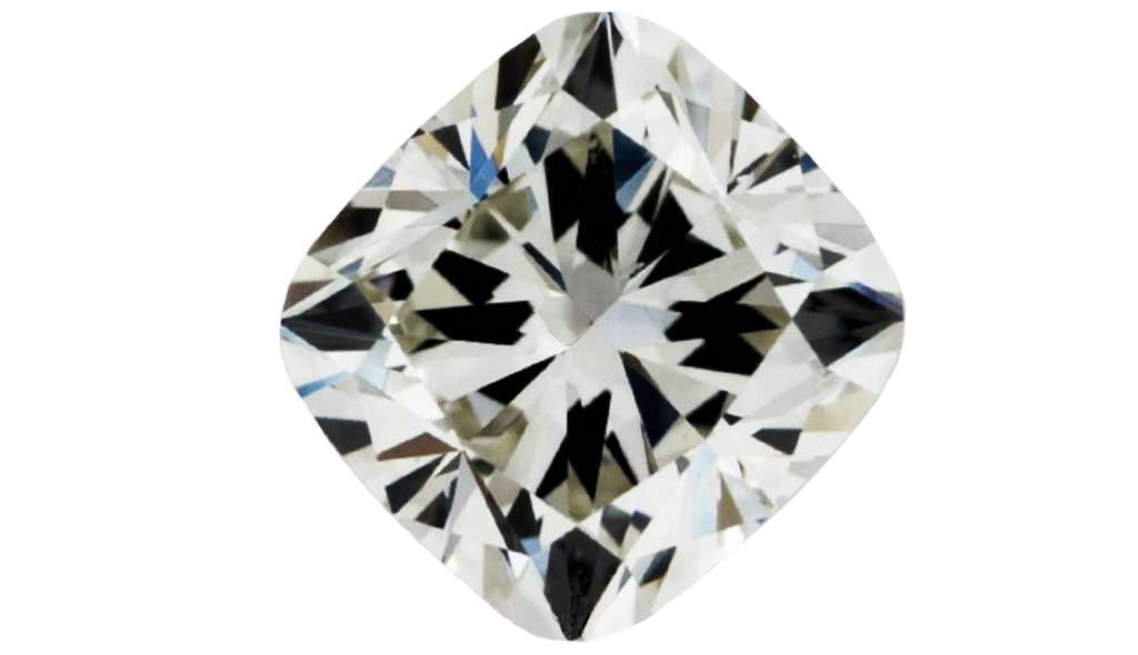 diamond shapes - cushion diamond