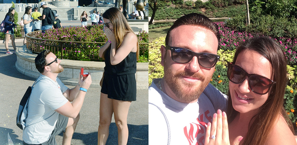 Disney proposal ideas - Chelsea & Ryan from Falmouth, Massachusetts