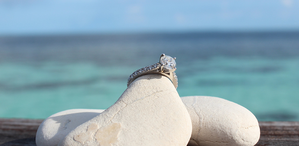 engagement story - diamond engagement ring
