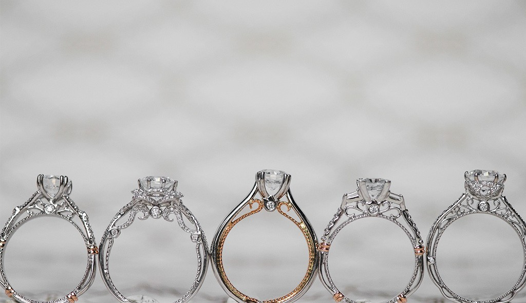 Engagement rings with beautiful undercarriages that make their diamonds look bigger