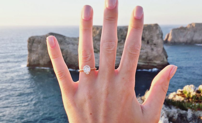 How to Take an Awesome Engagement Ring Selfie