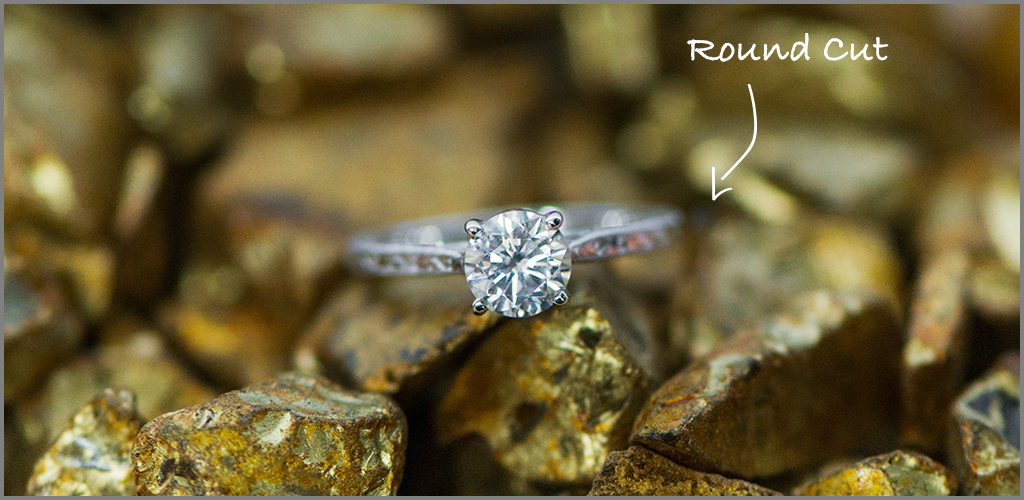 Round cut diamonds for an affordable engagement ring