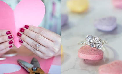 8 Valentine's Day Engagement Rings