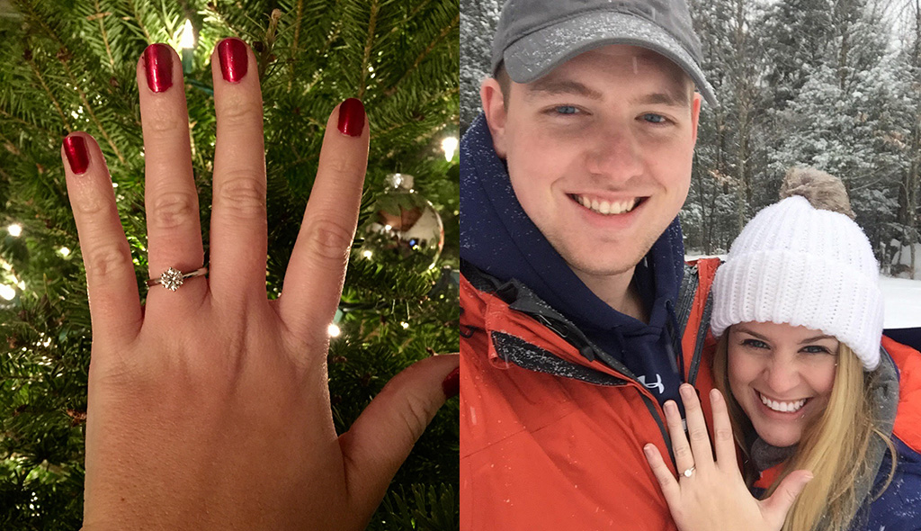 winter proposal story