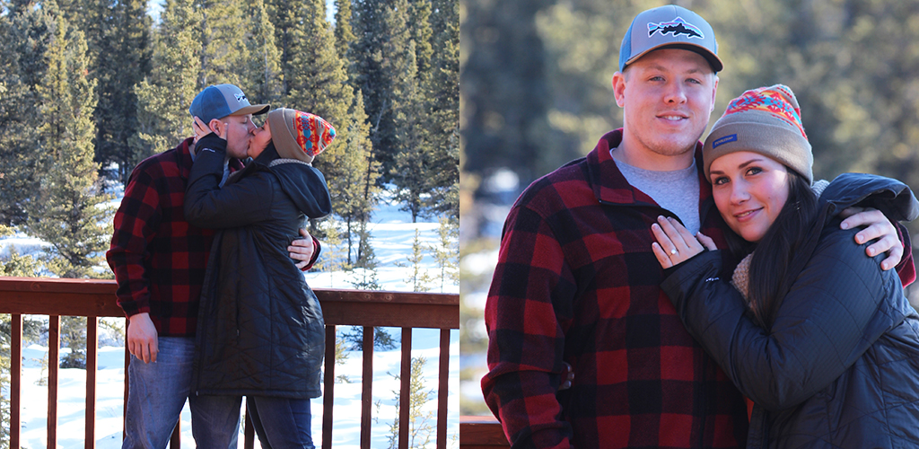 winter proposal ideas - Courtney & Ian from Portland, Oregon