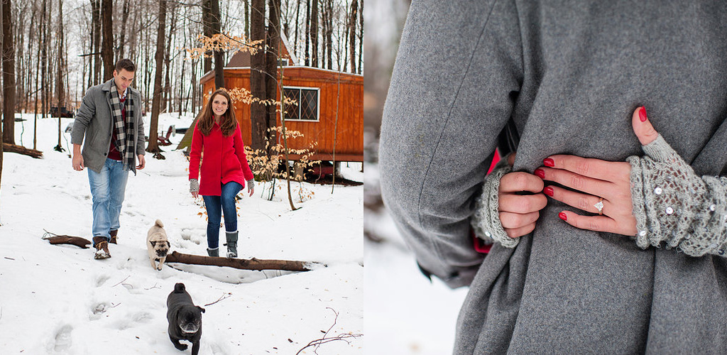 winter proposal ideas - Glenn and Karla from Hamburg, New York