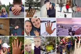 10 Winter Proposal Ideas from James Allen Customers