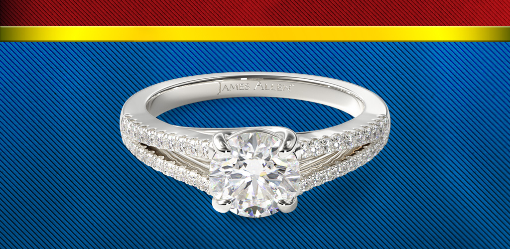 wonder woman wedding ring inspired engagement rings the allen 1477