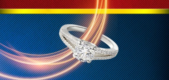 Wonder Woman Inspired Engagement Rings
