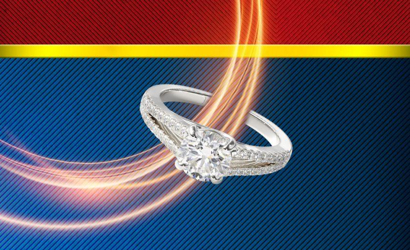 Wonder Woman Inspired Engagement Rings