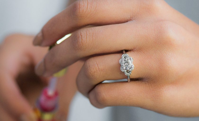 Floral Engagement Rings to Fantasize About