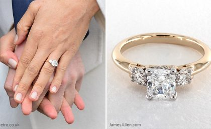 Get Inspired By Meghan Markles Engagement Ring