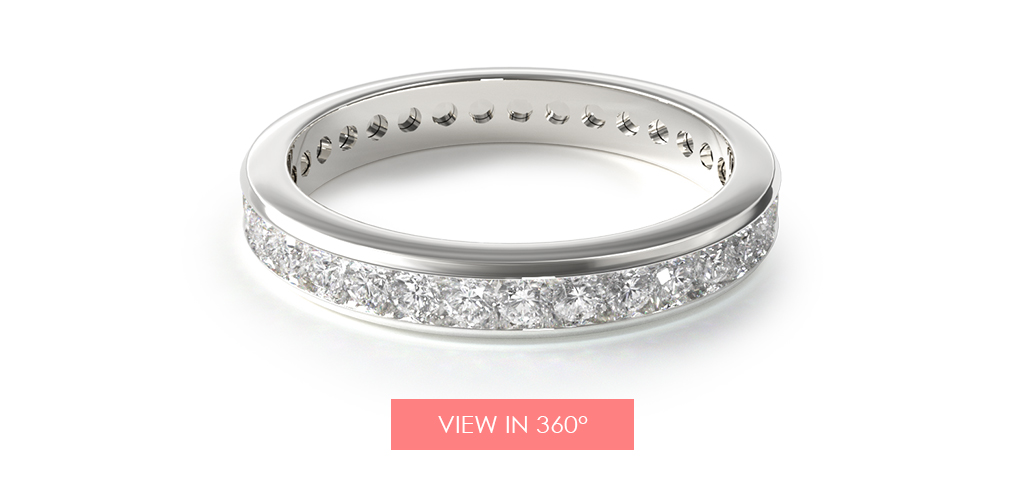 anniversary gift ideas diamond eternity ring