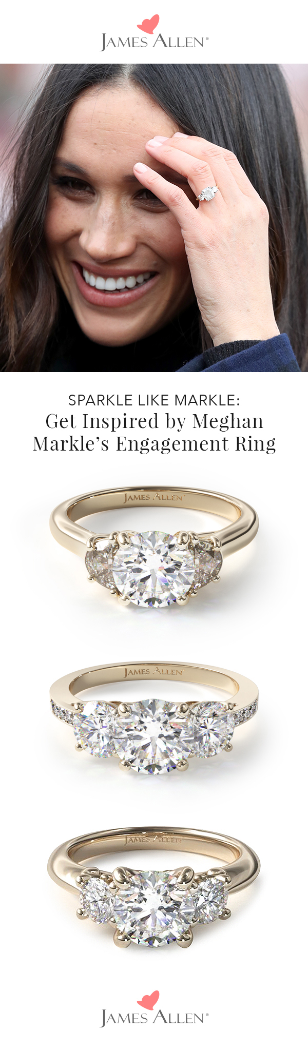 get inspired by meghan markle s engagement ring the james allen engagement ring blog meghan markle s engagement ring