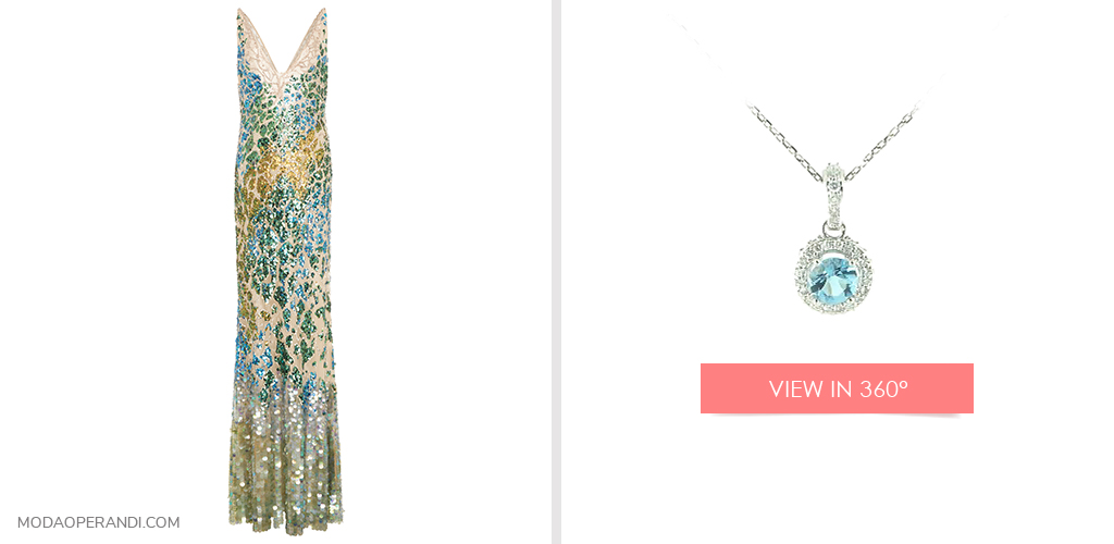 New Year's Eve jewelry to match your Roberto Cavalli sequined dress