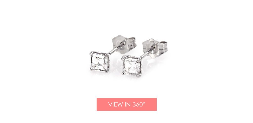 jewelry trends asscher diamond earrings