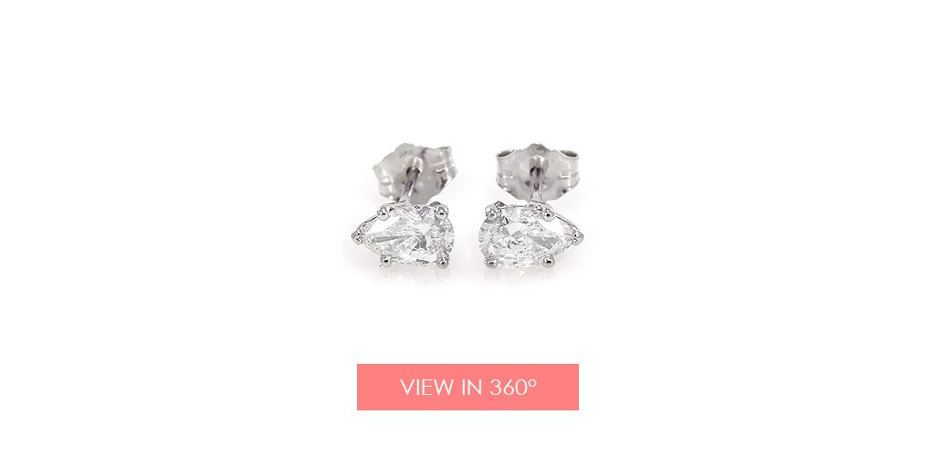 jewelry trends pear diamond earrings