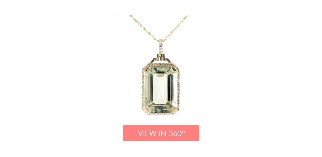 jewelry trends prasiolite pave necklace