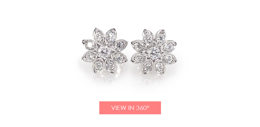 lotus flower earrings holiday gift guide