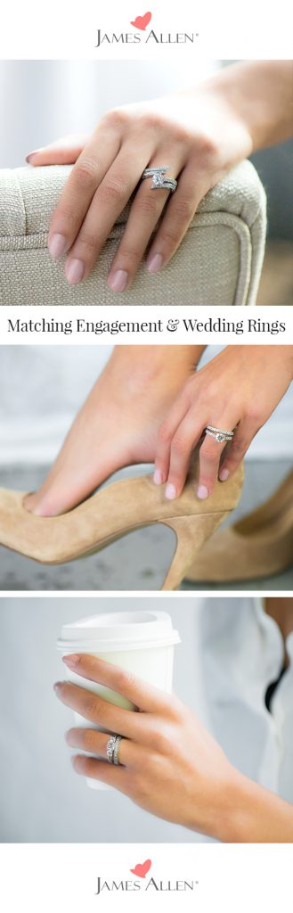 matching wedding rings pinterest pin