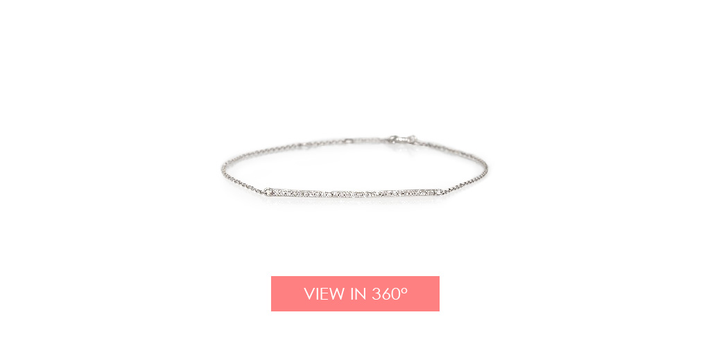 pave diamond bar bracelet holiday gift guide
