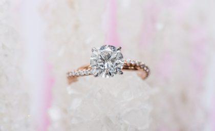 Style Series: Luminous Pavé Engagement Rings