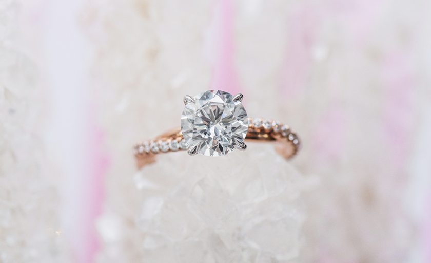 Style Series: Luminous Pavé Engagement Rings