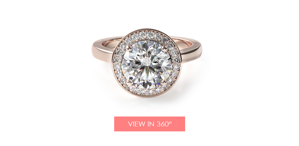 trellis halo diamond engagement ring holiday gift guide