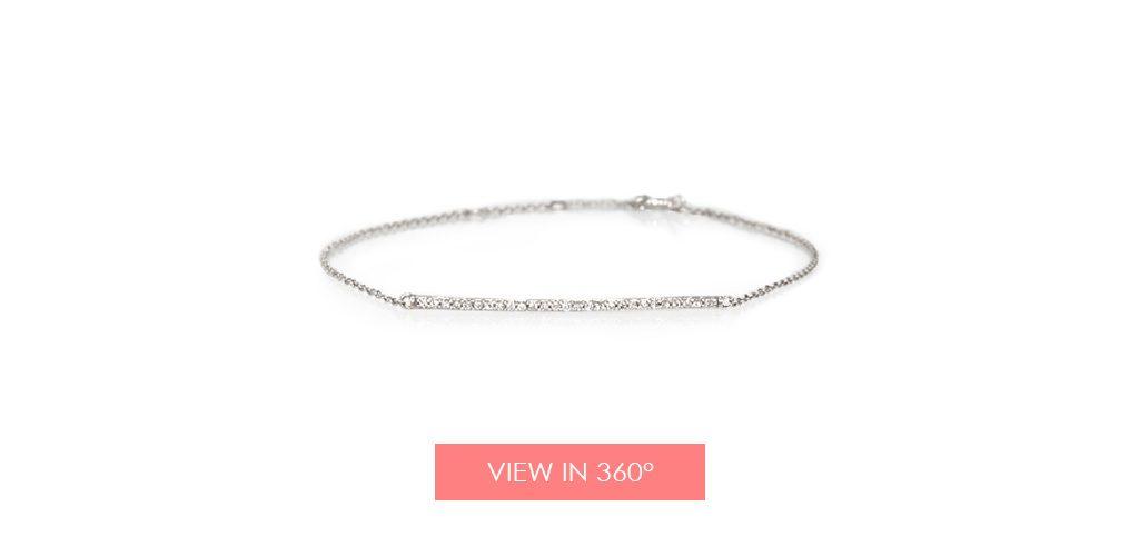 bar diamond bracelet galentines day gifts