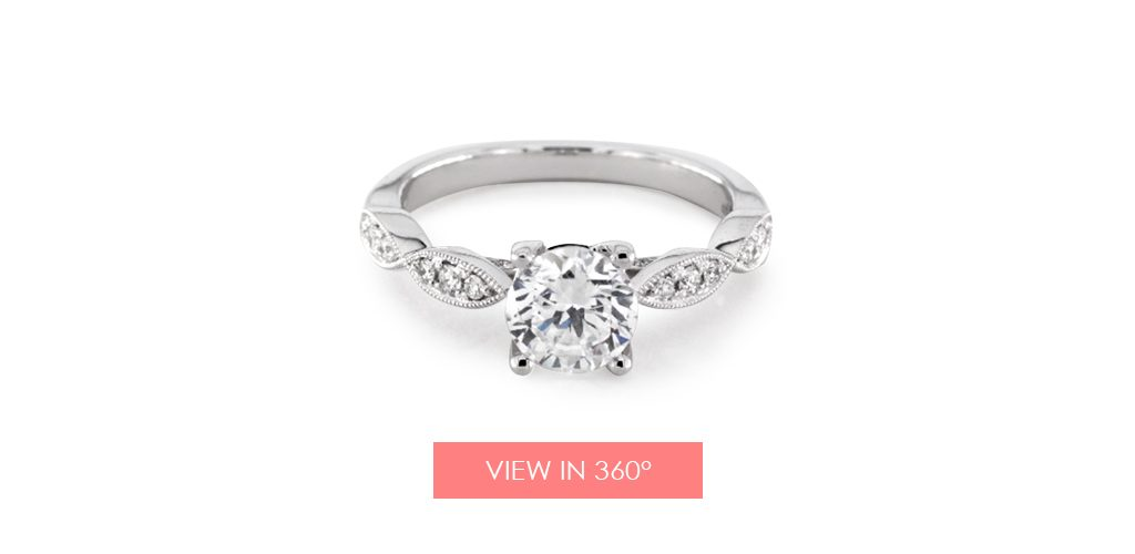 livia designer jeff cooper engagement ring vintage
