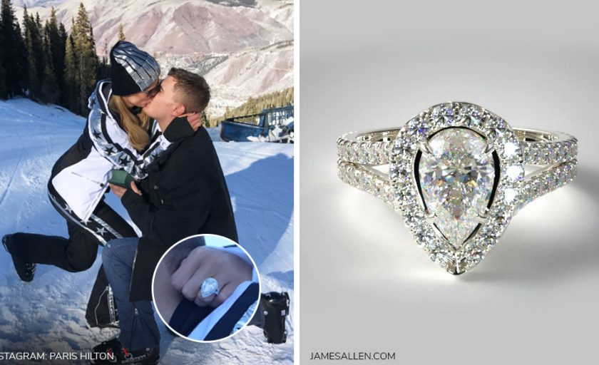 Get Paris Hilton's Engagement Ring for (Much) Less