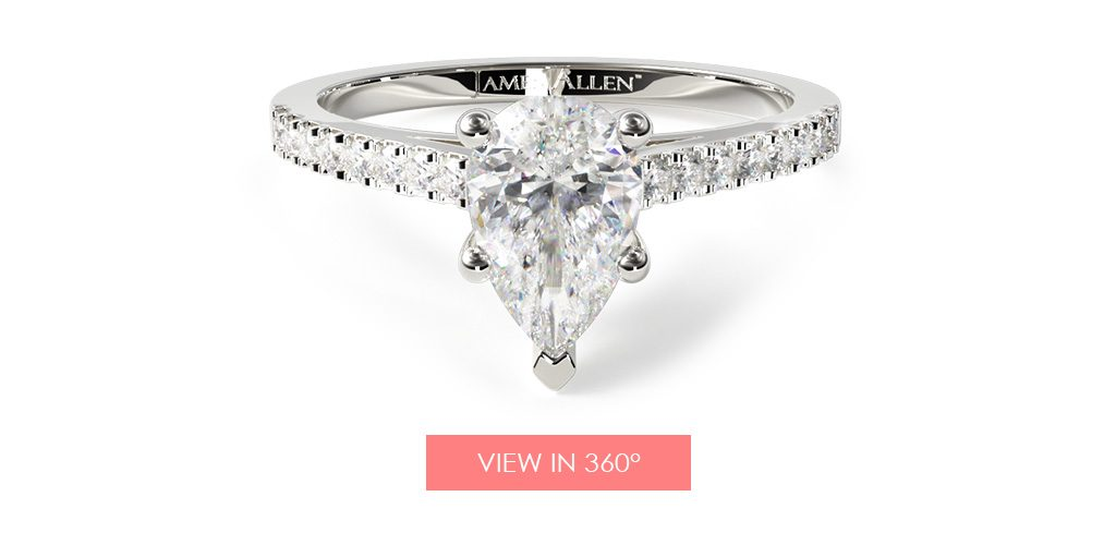 petite pave cathedral paris hilton's engagement ring