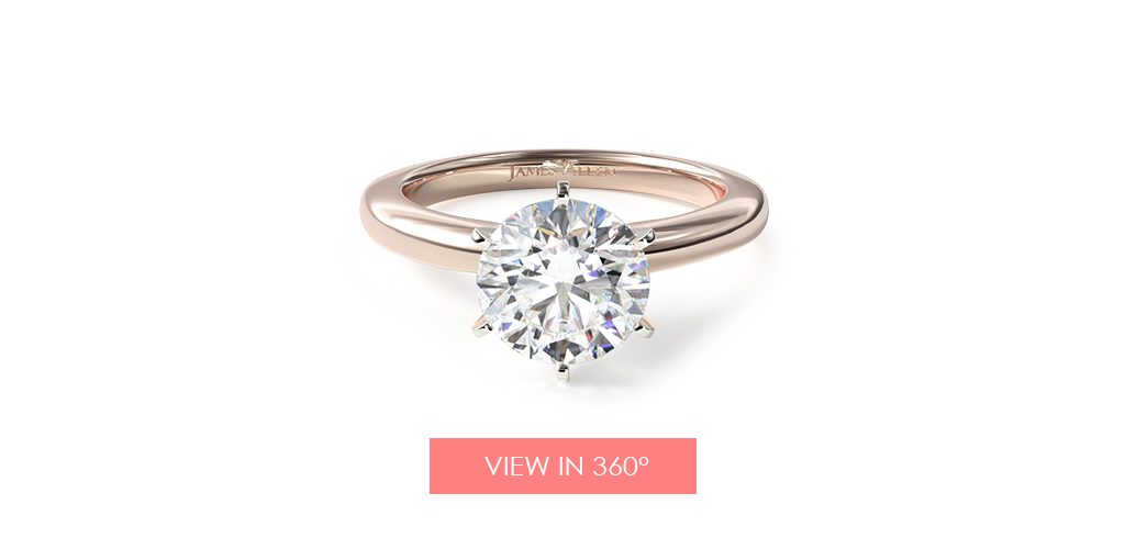 solitaire six prong engagement ring referral program