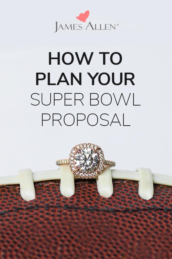 super bowl proposal pin pinterest