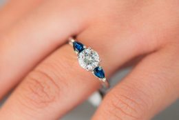 Style Series: Side-Stone & Three-Stone Engagement Rings