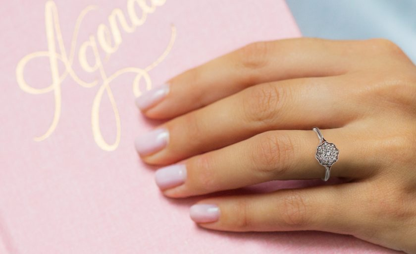 Cluster Engagement Rings: Luster for Life