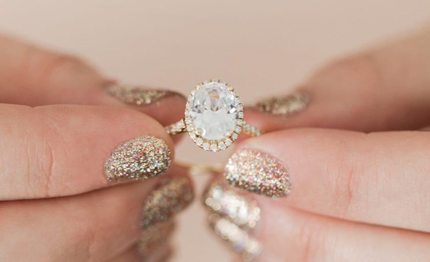 Winning Yellow Gold Engagement Rings
