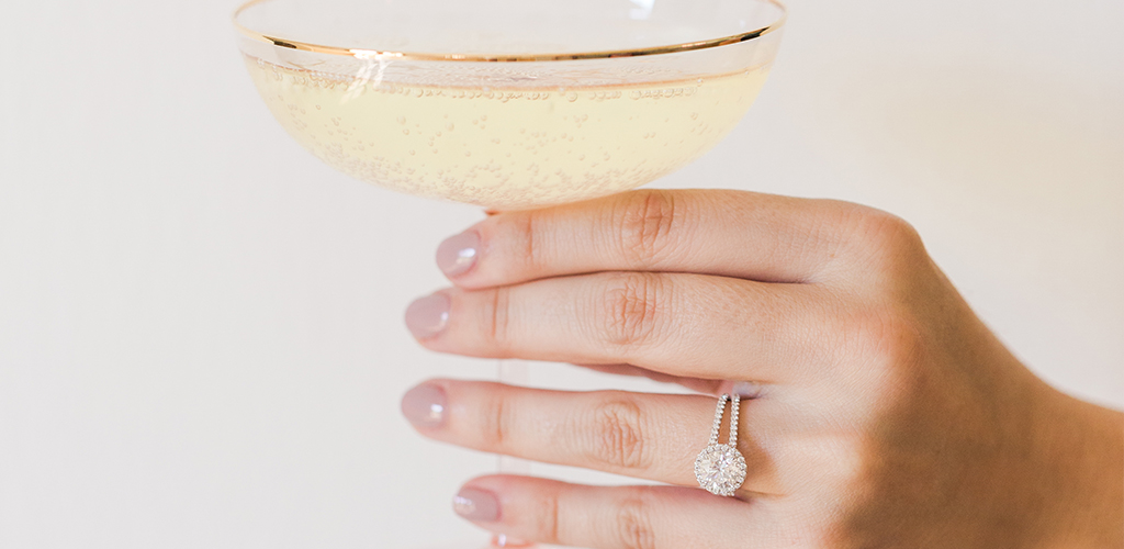 7 things to do after getting engaged grande halo split shank engagement ring