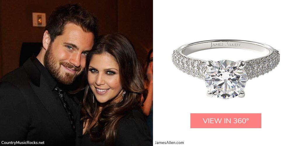 hillary scott country stars' engagement rings