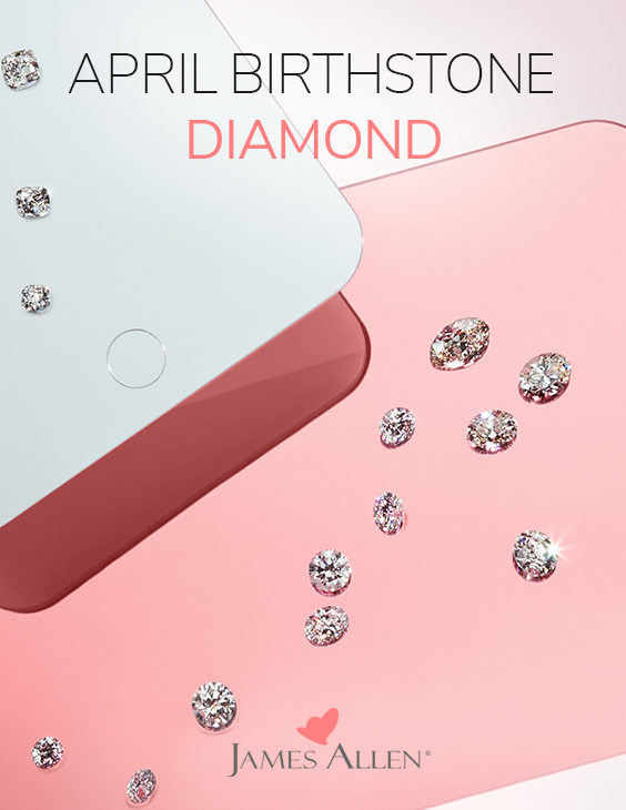 april birthstone diamond pinterest pin